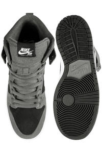 Nike SB Dunk High Pro Shoe (dark grey white)