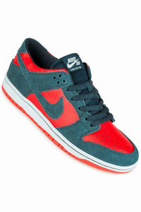 Nike SB Dunk Low Pro Shoe (nightshade chili red)