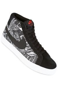 Nike SB Zoom Blazer Mid Shoe (black black white)