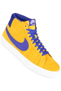 Nike SB Zoom Blazer Mid Shoes (tour yellow deep night)
