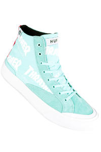HUF x Thrasher Classic Hi Shoes (mint)