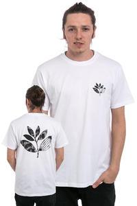 Magenta Picasso Plant T-Shirt (white)