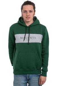 Magenta Paris Hoodie (forrest green)