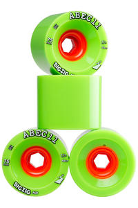 ABEC 11 Reflex Big Zig HD 75mm 77A Roue (green) 4 Pack