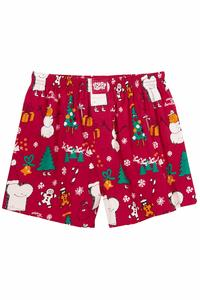 Lousy Livin Underwear Merry Merry Boxers (red)
