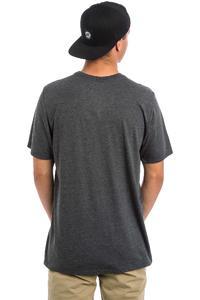 Hurley Icon Slash Lagoon T-Shirt (black heather)
