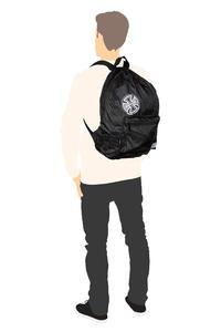 Herschel x Independent Daypack Rucksack 24,5L (black)