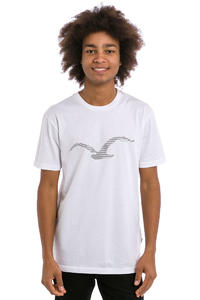 Cleptomanicx Two Möwe T-Shirt (white)
