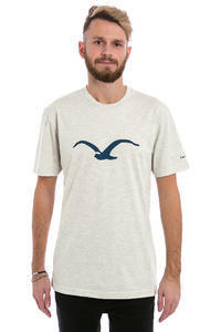 Cleptomanicx Möwe T-Shirt (heather creme)