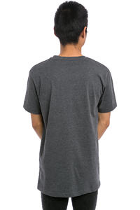 Cleptomanicx Mowe T-Shirt (heather dark grey black)