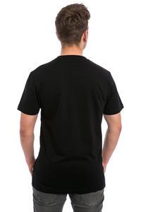 Cleptomanicx Big Sunrise T-Shirt (black)