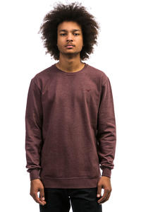 Cleptomanicx Ligull 2 Sweatshirt (heather tawny port)