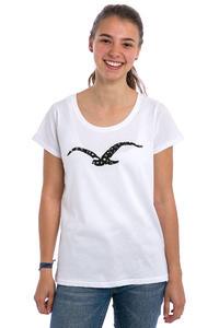 Cleptomanicx Möwe Love T-Shirt women (white)