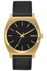 Nixon The Time Teller Uhr (gold black black)