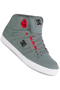 DC Spartan High WC TX Shoe (grey black red)