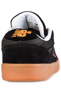 New Balance Numeric 598 Shoes (black orange gum)