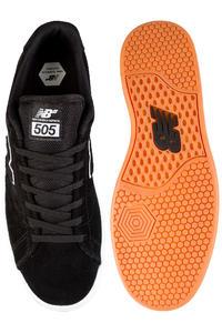New Balance Numeric 505 Shoe (black white)