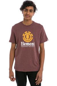 Element Vertical  T-Shirt (oxblood heather)