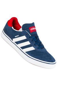 adidas Skateboarding Busenitz Vulc ADV Shoe (mystery blue white scarlet)