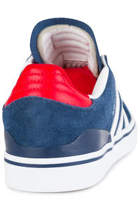 adidas Skateboarding Busenitz Vulc ADV Shoes (mystery blue white scarlet)