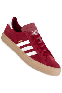 adidas Campus Vulc II ADV Shoes (collegiate burgundy whitee gum)