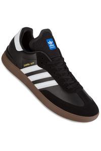 adidas Skateboarding Samba ADV  Shoe (core black white gum)