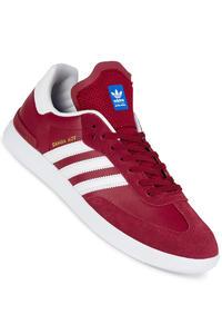 adidas Skateboarding Samba ADV  Shoe (collegiate burgundy white)