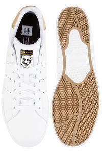 adidas Stan Smith Vulc Shoes (white pale mude gold)