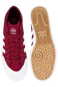 adidas Skateboarding Matchcourt Mid Schuh (collegiate burgundy white)