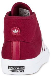adidas Skateboarding Matchcourt Mid Chaussure (collegiate burgundy white)