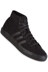 adidas Matchcourt High RX Shoe (core black)