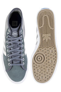 adidas Skateboarding Matchcourt High RX Schuh (onix white customized)