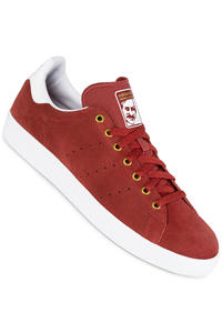 adidas Stan Smith Vulc Shoe (mystery red white)