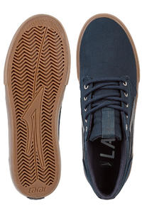Lakai Griffin Canvas Shoes (navy gum herringbone)