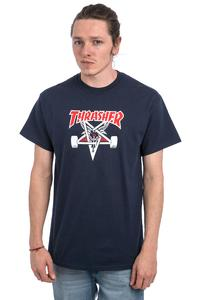 Thrasher Two-Tone Skategoat T-Shirt (navy)