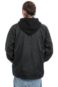 Thrasher Flame Logo Coach Jacket (black)