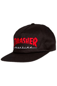 Thrasher Two-Tone Magazine Logo Cap (black red)
