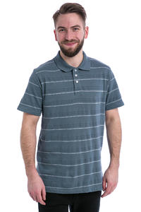 Volcom Wowzer Stripe Polo-Shirt (ash blue)