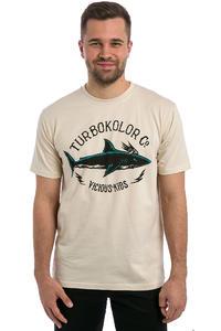 Turbokolor Shark T-Shirt (vintage white)