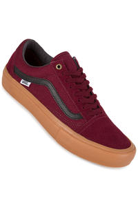 Vans Old Skool Pro Shoe (port black gum)