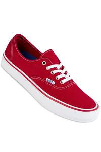 Vans Authentic Pro  Shoe (scarlet white)
