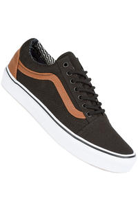 Vans Old Skool Shoe (black material mix)