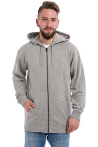 Vans Core Basics IV Zip-Sweatshirt avec capuchon (cement heather)
