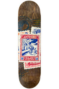 "Anti Hero Van Der Linden Postal 8.18"" Deck (multi)"