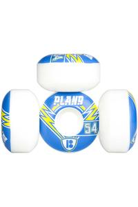 Plan B Team Charged 54mm Wheel (white) 4 Pack