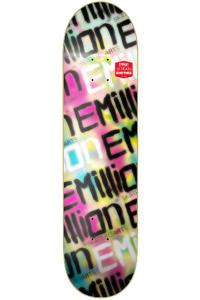 "EMillion Best Of Logo #1 Neomillion 8.25"" Planche Skate (multi)"