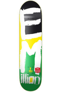 "EMillion Best Of Logo #2 Cobra II 7.875"" Planche Skate (multi)"