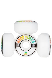 EMillion Good Times 54mm Roue (white) 4 Pack