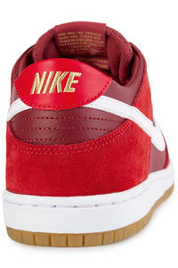 Nike SB Dunk Low Pro Shoes (track red white)