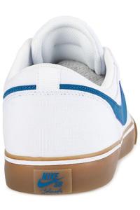 Nike SB Solarsoft Portmore II Canvas Schuh (white industrial blue)